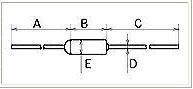 温度ヒューズ ロケット型 FTF-10A